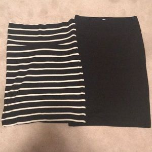 2 Forever 21 pencil skirts size S